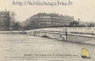 Photos Et Historique Du Pont De L Alma Paris
