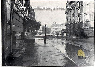 Paris dans l\'eau - editions Albin MICHEL (1910)