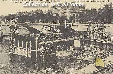 El París de Napoleón III - Página 4 Travaux_metropolitain